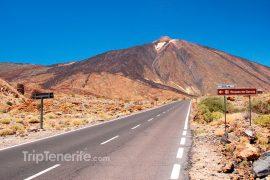 La route vers le Teide