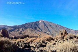 Vue sur le Teide d'Ucanca