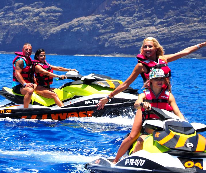 Jet Ski West Tenerife entre amis
