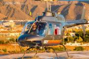 Baptême en helicoptère