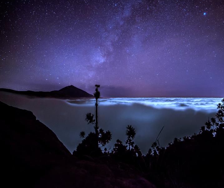 Etoiles Teide de Nuit