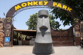 Entrée du Monkey Park