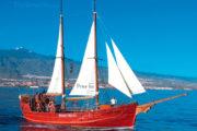 Le bateau Peter Pan a Tenerife