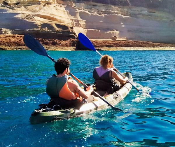 Kayak en couple
